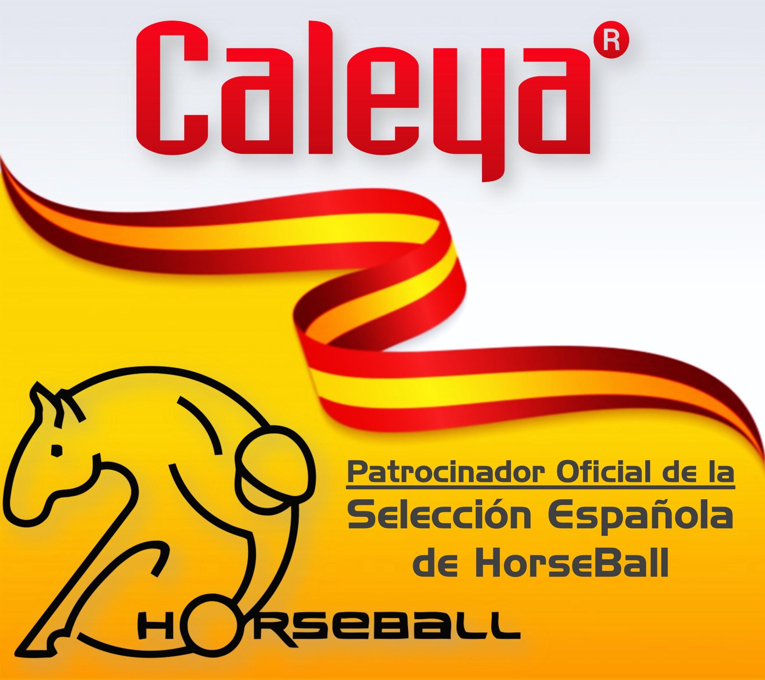 Caleya Patrocinador Oficial de la Selección Española de Horseball